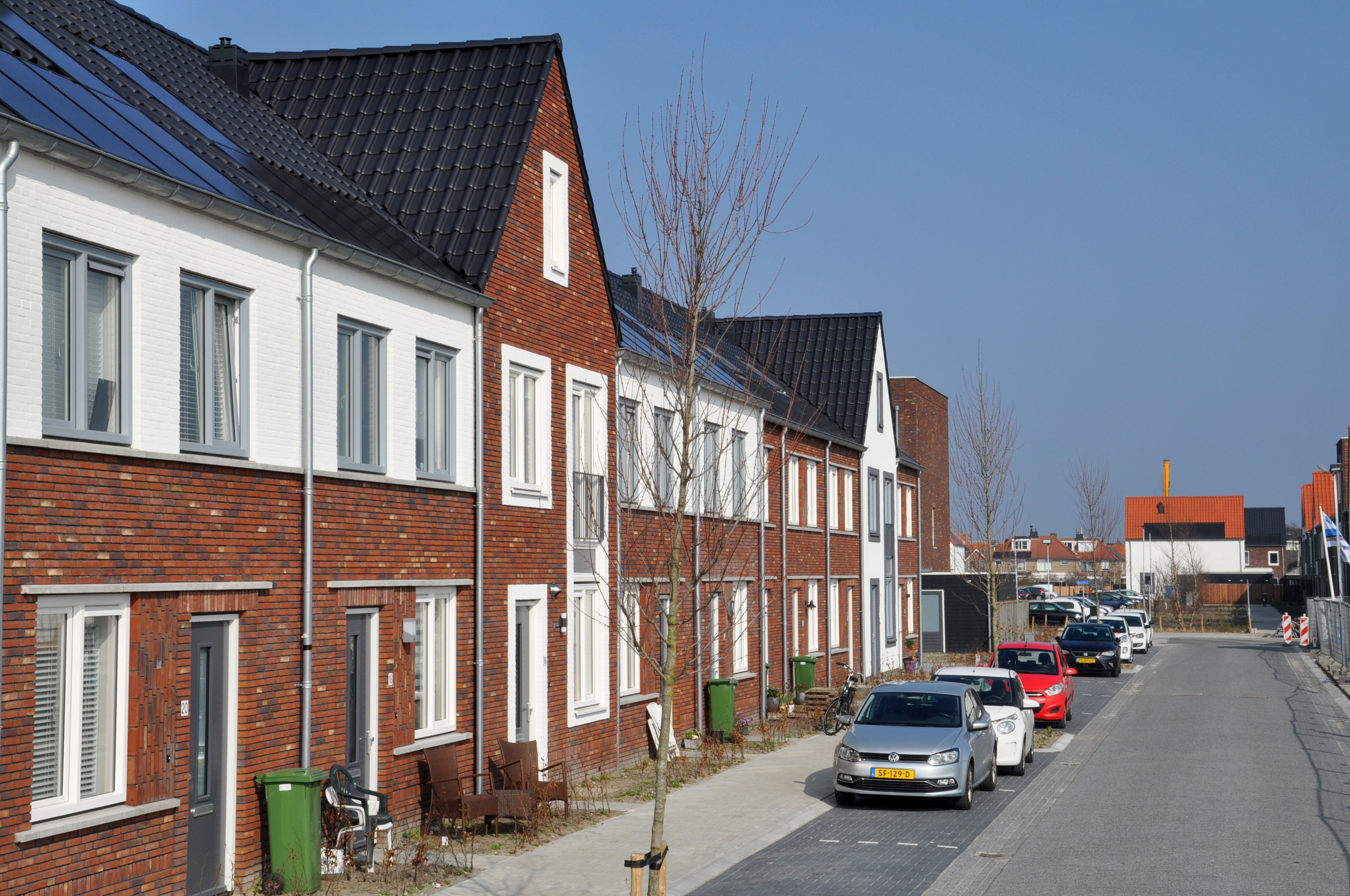 Aan de Braassem al een volledige woonwijk